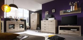 Nábytok do obývacej izby dub sonoma Eleanor 3