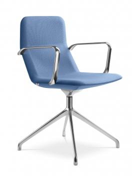 Konferenčná stolička s opierkami Lore