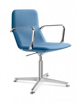 Čalúnená konferenčná stolička Pomona