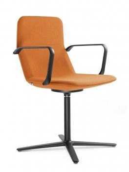 Konferenčná čalúnená stolička Shani