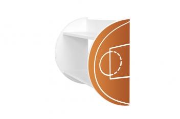 Polica do detskej izby Basketbal