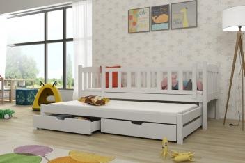 Detská posteľ s prístelkou Ricaro