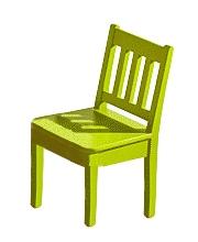 Detská jedálenská stolička Arvin I zelená