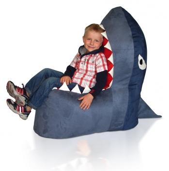 Detský sedací vak Žralok