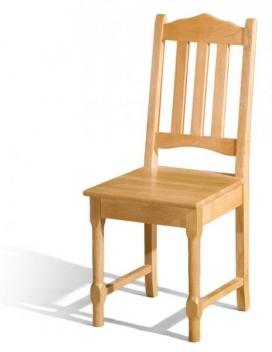 Jedálenská stolička Lenka - masív jelše