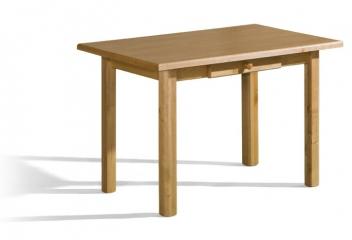 Jedálenský stôl Lukas so zasuvkou