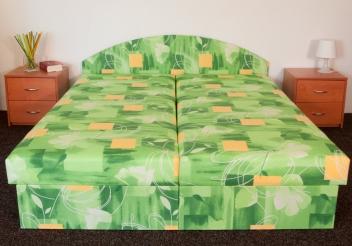 Čalúnená manželská posteľ Rozita
