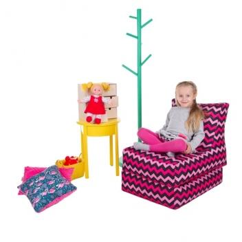 Detský rozkladací sedací vak Felim XXL (2XL)