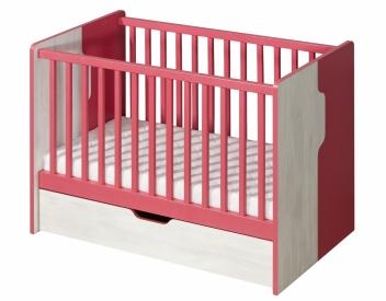 Detská postieľka s úložným priestorom 120x60 Noly 10