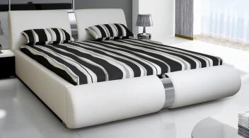 Čalúnená manželská posteľ Elsie