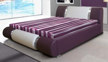 Čalúnená manželská posteľ Elsie 2