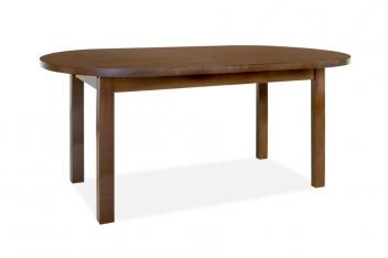 Oválny jedálenský stôl Median s prídavnou doskou