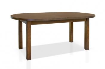 Jedálenský stôl Lorena s oválnou rozkladacou doskou