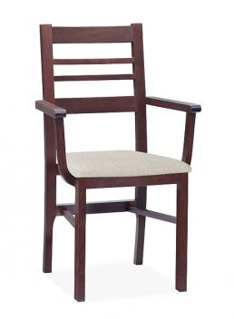 Drevená jedálenská stolička Latafa