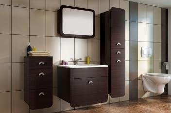 Lacný kúpeľňový set Kirsti