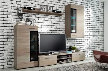 Lacná obývacia stena Melia