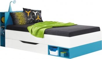 Detská posteľ s úložným priestorom Poly