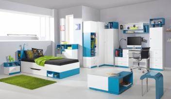 Zostava študentského nábytku Poly 2