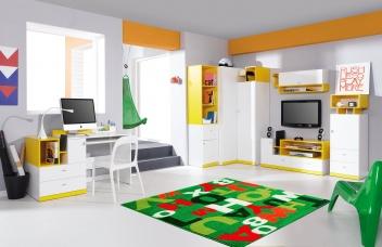 Študentský nábytok Poly 4