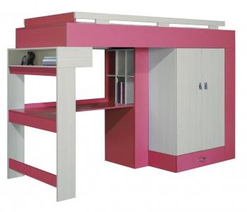 Detská posteľ s písacím stolom a skriňou Adela 3