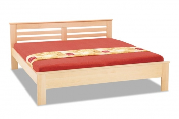 Drevená posteľ Grigory
