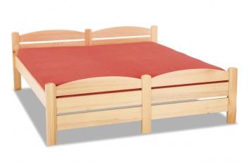 Drevená posteľ z masívu Mateo