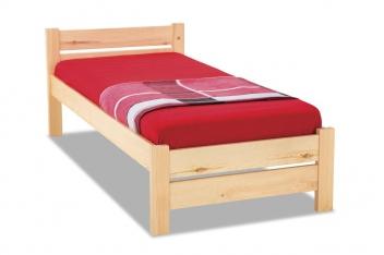 Jednoduchá posteľ z masívu Lily
