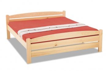 Dvojlôžková posteľ z masívu Radmila