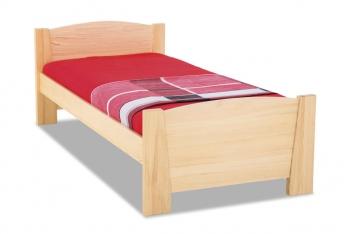Drevená posteľ s čelami Marian