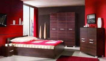 Zostava nábytku pre malé spálne Mauricius 4