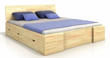 Drevená posteľ Visa 6 - masív borovice