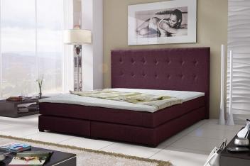 Čalúnená manželská posteľ Nyla