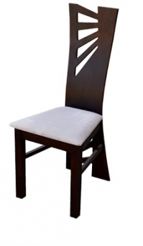 Dizajnová jedálenská stolička Rima