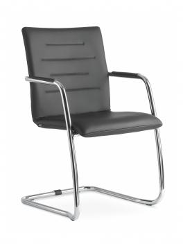 Kovová konferenčná stolička Ingrid