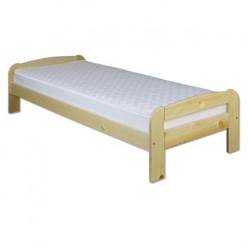 Jednolôžková borovicová posteľ Dominika