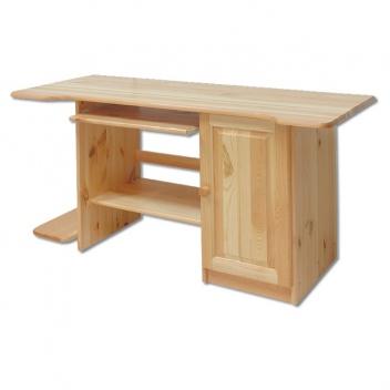 Elegantný masívny písací / počítačový stôl Valto