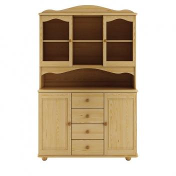 Rustikálny drevený kredenc Hervor