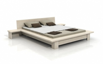 Variabilná posteľ Hanne s nočnými stolíkmi