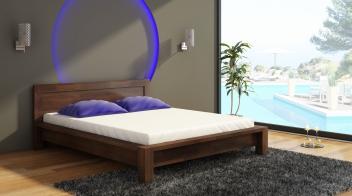 Variabilná posteľ Vanja z masívu borovice