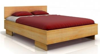 Drevená posteľ Edel s úložným priestorom