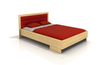Škandinávska manželská posteľ Inga 4 z masívu borovice