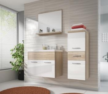 Elegantný dvojfarebný kúpeľňový nábytok Horace