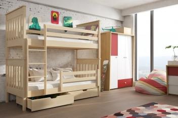 Poschodová posteľ Mandy pre deti