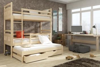 Detská poschodová posteľ Trixie