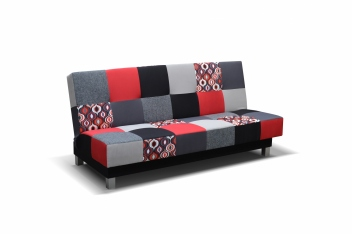 Pestrofarebná pohovka Bona pre váš pohodlný odpočinok