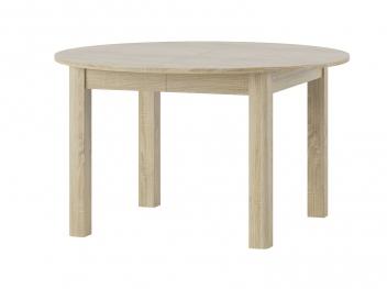 Okrúhly jedálenský stôl Cecyl - rozkladací