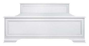 Manželská posteľ Lettore - biela