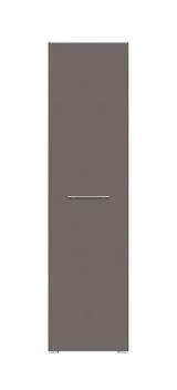 Policová skriňa Grey 1 - orech columbia / sivý volfrám