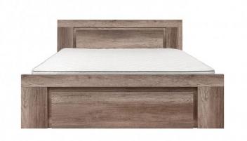 Manželská posteľ Woody - dub monument
