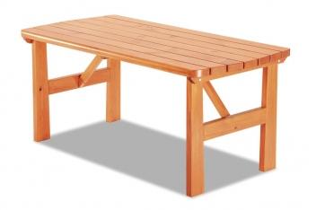 Drevený záhradný stôl Amari